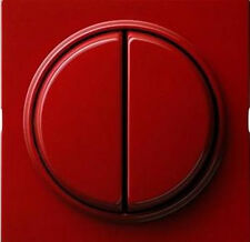 Gira S-Color rot, SERIENSCHALTER (Tastschalter) MIT WIPPE 012543
