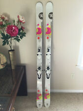 New listing Brand New Rossignol Trixie twin-tip skis 168cm with Look Bindings