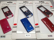 Replacement Mobile Phone Fascia Housing Cover & Keypad For Sony Ericsson W200