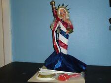 STATUE OF LIBERTY Barbie FAO Schwarz DE-BOXED  DOLL & FASHION 1995