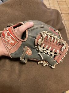 """Rawlings Gamer XLE 11.75"""" Baseball Glove GXLE5GSW Right Hand Throw Used"""