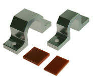 Escort MK1 MK2 Alloy Steering Rack Mounts - Aluminium Mounting Brackets Clamps