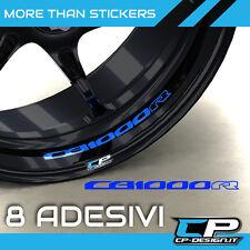 Logo adesivo per cerchi moto HONDA CB1000R X8 cb 1000 r sticker strip