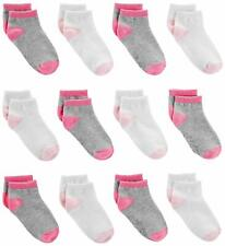 Simple Joys by Carter's Baby Girls' Toddler 12-Pack, Pink/Gray/White, Size 4T/5T