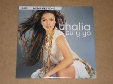 THALIA - TU Y YO - CD SINGOLO