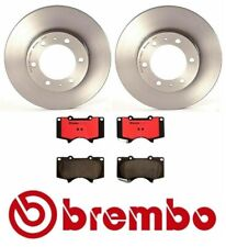 Front Disc Brake Rotors & Ceramic Pads Kit Brembo for 4Runner FJ Cruiser Tacoma