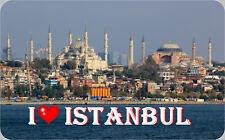 Kühlschrankmagnet, Magnetschild, Magnet - I Love Istanbul )