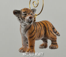 Custom Baby Bengal Tiger Cub Christmas Ornament Free Standing Adorno Kitten Cute