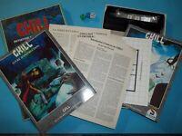 CHILL - Initiation au jeu d'épouvante - SCHMIDT 1ère édition