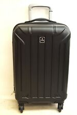 $440 NEW TAG Laser 20'' Hard Case Carry On Spinner Luggage Travel Suitcase Black