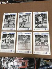 San Diego Soccers 1989 Team 5x7  Set Of 20 Lowenbrau Beer
