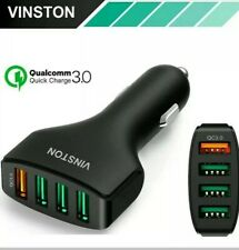 SUPER FAST 7.5A QC3.0 Vinston USB Car Charger For iPhone X 8 7 6 Samsung Huawei