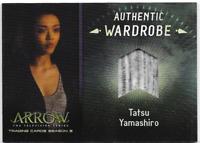Arrow 3 Relic Wardrobe Costume Card Tatsu Yamashiro M04 M-04