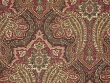 Mill Creek Raymond Waites Paisley Print CANDIDE Brown NUTMEG Drapery Fabric BTY