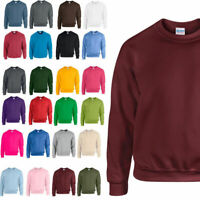 Gilden New Mens Unisex Heavy Blend Adult Crew Neck Sweatshirt TOP Small to 2XL