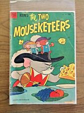 The Two Mouseketeers #475 1953 Tom and Jerry Golden Age Comic Book MGM Low Grade