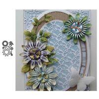 Stanzschablone Blume Hochzeit Weihnachts Oster Geburtstag Karte Album Deko DIY