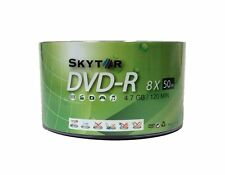 1000 Blank SKYTOR DVD-R 8X White Top 4.7GB Recordable Media Disc EXPEDITED