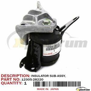 05-10 SCION tC FACTORY OEM 12305-28220 ENGINE TORQUE STRUT MOUNT SIDE BRACKET