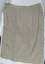 Pendleton Houndstooth Wool Skirt Misses' 16 Free Shipping