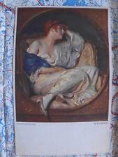 Gedanken Schmutzler Gemälde Kunstwerk Postkarte Ansichtskarte 3015