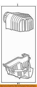 CHRYSLER OEM Air Cleaner Intake-Filter Box Housing 4861729AB