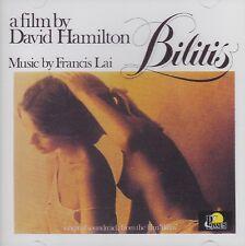 [BRAND NEW] CD: BILITIS: A FILM BY DAVID HAMILTON: MUSIC BY FRANCIS LAI