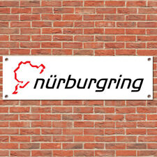 Nurburgring Motorsport Car Track Racing Sign Garage Workshop Banner Display