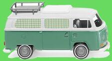 1:87 Wiking 031502 VW T2 Campingbus - mintgrün/wei�Ÿ Blitzversand per DHL-Paket