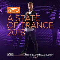 Armin van Buuren - A State Of Trance 2018 (NEW 2 x CD) trans damage case