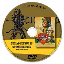 The Adventures Of Robin Hood (1938) - Errol Flynn, Olivia de Havilland DVD
