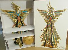 Bob Mackie Fantasy Goddess Of The Americas Barbie Doll 3rd In Series+Shipper B1
