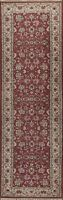 Floral Ardakan Traditional Runner Rug Wool Hand-knotted Oriental Carpet 3x10 RED