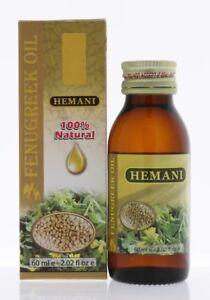 Hemani Fenugreek Oil 60ml 100% Natural and Cold Pressed