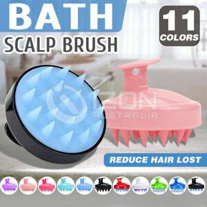Shampoo Scalp Head Massage Shower Scrubber Massager Clean Scrub Hair Brush Comb