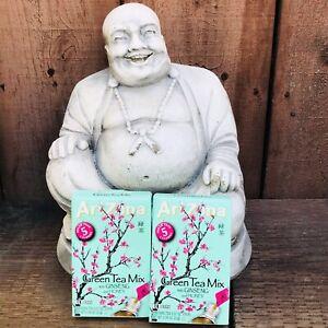 AriZona Green Tea Mix Ginseng & Honey 22 Boxes (20 Stix Total)