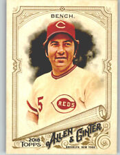 (10) Johnny Bench 2018 Topps Allen & Ginter BASE CARD LOT (x10) Reds #133