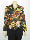 T by Bettina Liano Ladies Long Sleeve Shirt / Top 8 10 12 Colour Multi