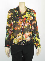 T by Bettina Liano Ladies Long Sleeve Shirt Top 8 Colour Floral Print