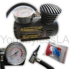Portable Mini Air Compressor Electric Tire Infaltor Pump 12 Volt Car 250 PSI USA