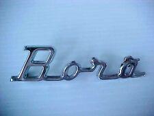 Maserati Bora Emblem Name Plate Script Rear OEM