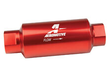 12301 Aeromotive 10 Micron, ORB-10 Red Fuel Filter