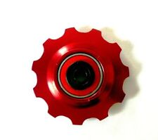 MT ZOOM RED Ceramic Bearing  Jockey Wheel x1 11T, fits shimano KCNC sram