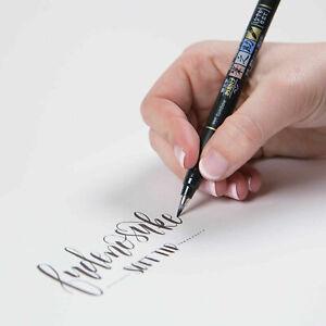 Tombow Soft Brush Pen - BLACK - Fudenosuke - Calligraphy, Sketch, Hand Lettering