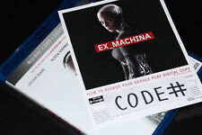 DIGITAL HD Ex Machina MOVIE CODE ONLY (CANADIAN CODE-READ)