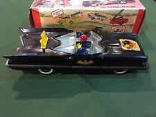 Carlos V Batmobile Batman Murcielauto Nº 4 Argentina Tin Toy in Box