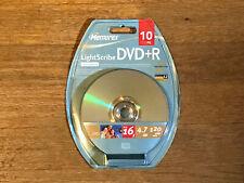 Memorex Sealed LightScribe DVD-R 10 Pack - 16x 4.7 gb 120 minutes