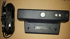 Dell Laptop Docking Station PR01X & Power Cord Adapter   ORIGINAL