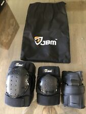 Jbm Adult Knee Pads Elbow Pads Wrist Guards 3 In 1 Protective Gear Set