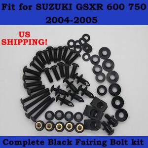 SUZUKI GSXR750 2004-2005 STAINLESS STEEL SCREEN BOLT KIT